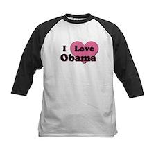Pink Heart Obama Tee