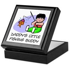 Daddy's Little fishing Buddy Keepsake Box