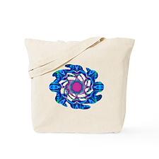 Cyberdelic Kaleidoscope Tote Bag