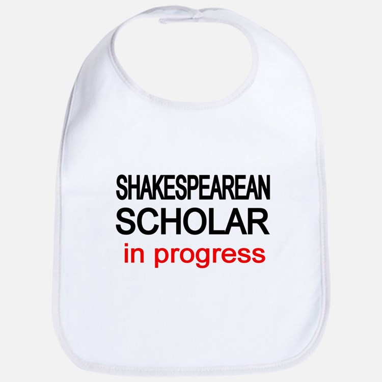 Shakespearean Scholar Bib