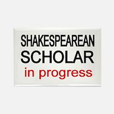 Shakespearean Scholar Rectangle Magnet