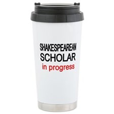 Shakespearean Scholar Travel Mug