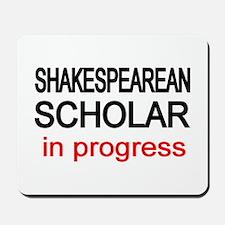 Shakespearean Scholar Mousepad