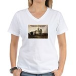 Mission San Xavier del Bac Women's V-Neck T-Shirt