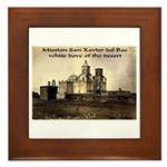 Mission San Xavier del Bac Framed Tile