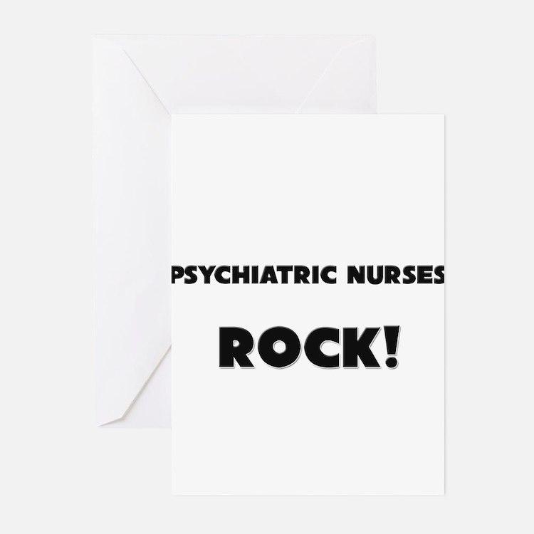 Psychiatric Nurses ROCK Greeting Cards (Pk of 10)