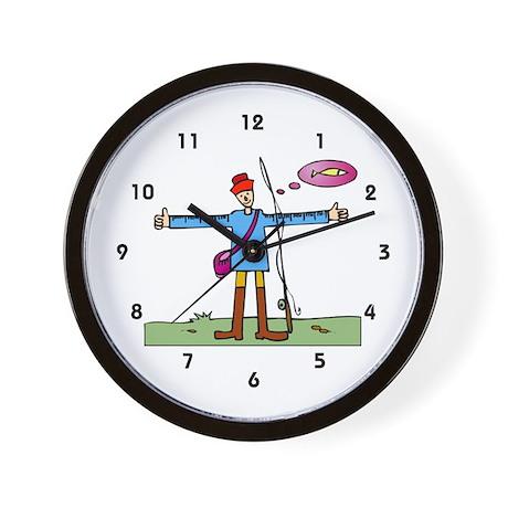 Fish Story Wall Clock
