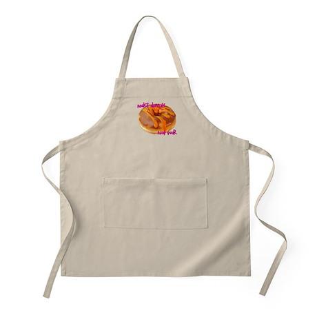 make donuts not war BBQ Apron