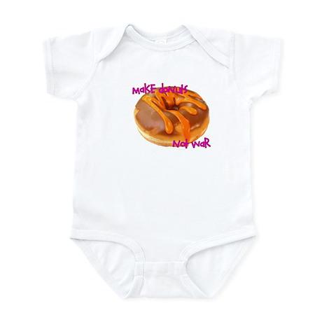 make donuts not war Infant Bodysuit