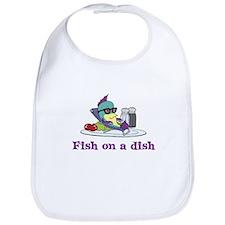 Fish on a Dish Bib