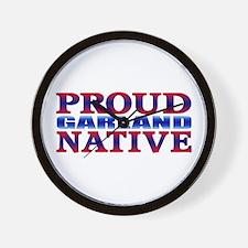 Proud Garland Native Wall Clock