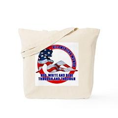 All American Woman Tote Bag