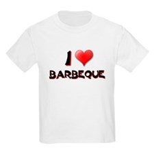 I LOVE BARBEQUE BBQ Kids T-Shirt