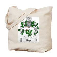 Drago Family Crest Tote Bag