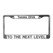 Taking Diva License Plate Frame