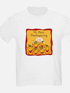 1st Thanksgiving Pumpkins T-Shirt