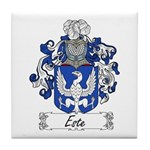 Este Family Crest Tile Coaster