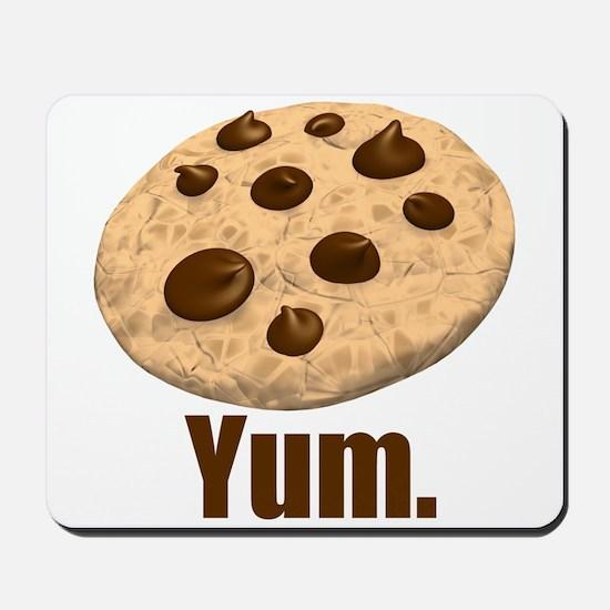 Yum. Cookie Mousepad