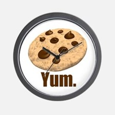 Yum. Cookie Wall Clock