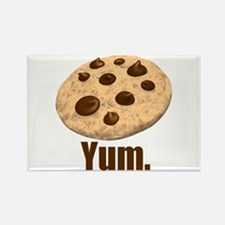 Yum. Cookie Rectangle Magnet