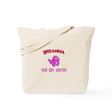 Breanna - Dino Big Sister Tote Bag