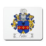Fabbri Family Crest Mousepad