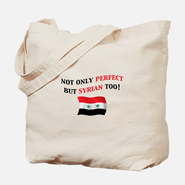 Perfect Syrian Tote Bag