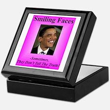 """""""Smiling Faces"""" Keepsake Box"""