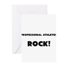 Professional Athletes ROCK Greeting Cards (Pk of 1