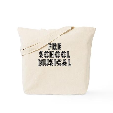 Pre School Musical Tote Bag