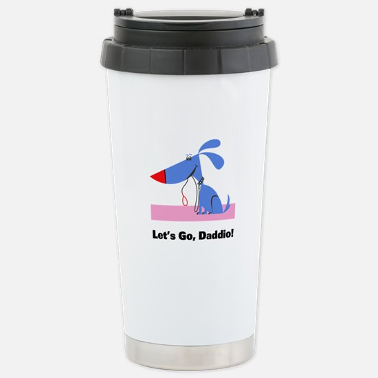 Dog Walker Stainless Steel Travel Mug