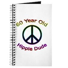 Hippie Dude 60th Birthday Journal