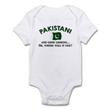Good Looking Pakistani 2 Infant Bodysuit
