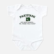 Good Looking Pakistani 2 Infant Bodysuit