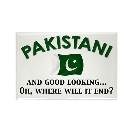 Good Looking Pakistani 2 Rectangle Magnet (10 pack