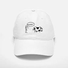 Moo At Cow Baseball Baseball Cap