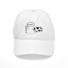 Moo At Cow Baseball Cap