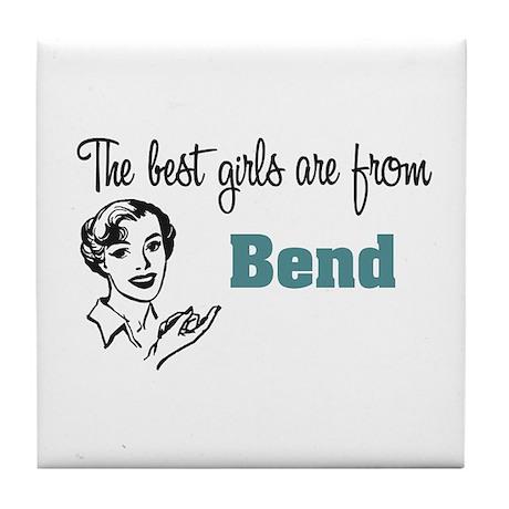 Best Girls Bend Tile Coaster