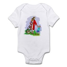 Jesus & The Children Infant Bodysuit
