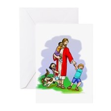 Jesus & The Children Greeting Cards (Pk of 20)