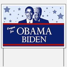 Oregon for Obama Yard Sign