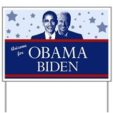 Arizona for Obama Yard Sign