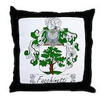 Facchinetti Family Crest Throw Pillow