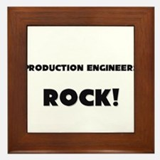 Production Engineers ROCK Framed Tile