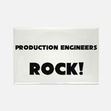 Production Engineers ROCK Rectangle Magnet