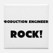 Production Engineers ROCK Tile Coaster