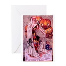 Magic Halloween Greeting Card
