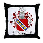 Fagnani Family Crest Throw Pillow