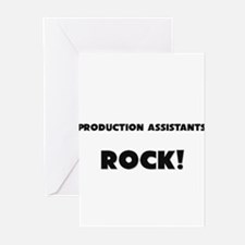 Production Assistants ROCK Greeting Cards (Pk of 1