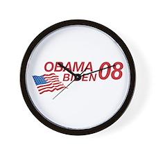 Obama/Biden 08 Wall Clock